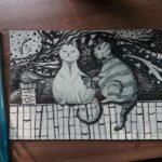 Мастер-класс по рисованию в воскресной школе Покровского собора