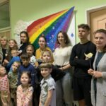 Посещение детского социального приюта в д. Лойки